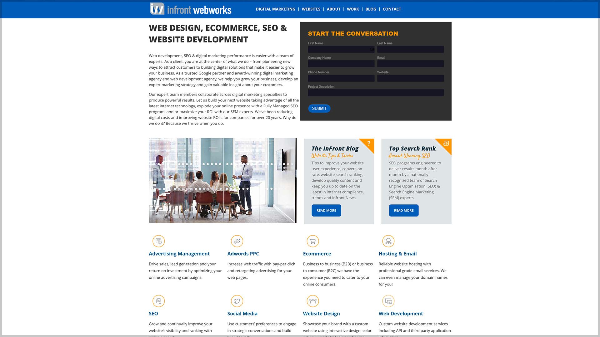 Infront Webworks
