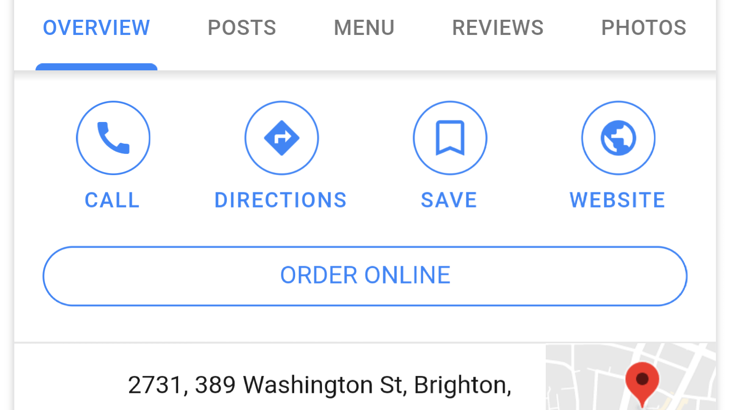 Businesses can now opt out of Google's online food ordering